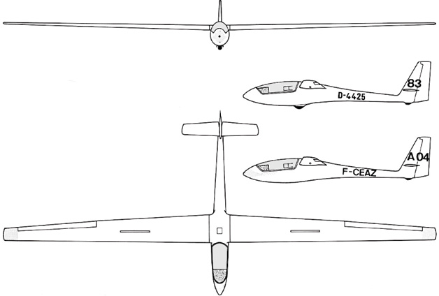 3 Plane View of ASW-15