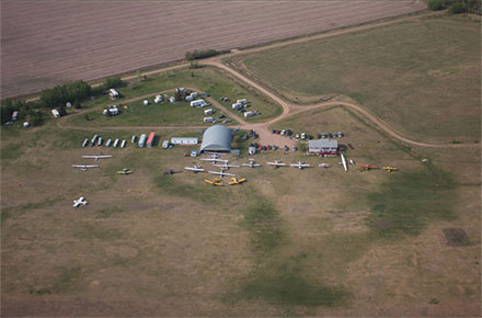 Aerial Photo of Chipman Airfield
